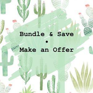 Other - Closet Deals • Bundle & Save • Make an Offer